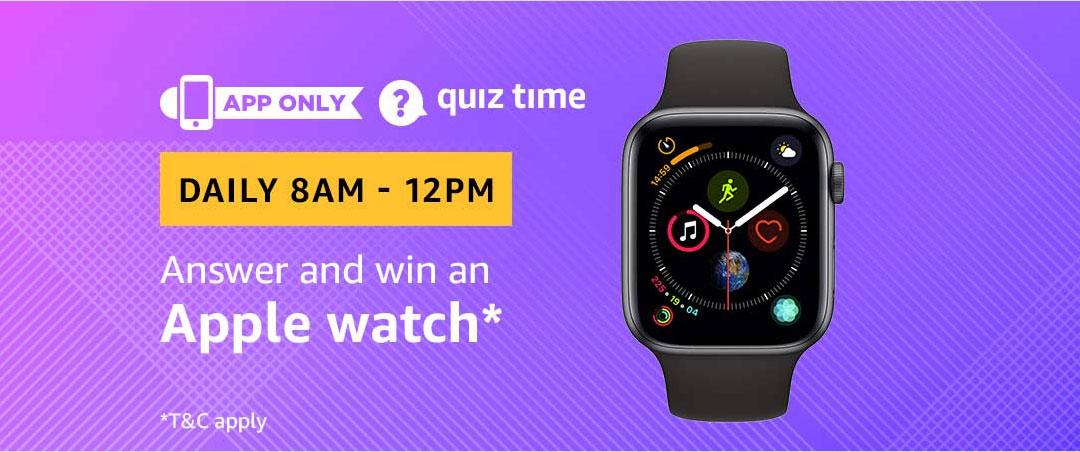 Amazon Quiz 21 February 2019 Answers