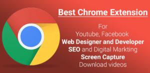 List of Best Google Chrome Extension